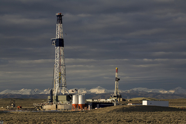 Wyoming fracking well