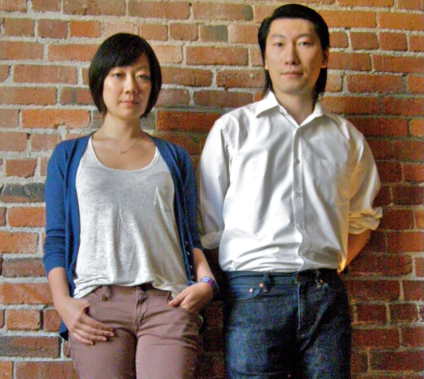 Linus Lam and Denise Liu, architects