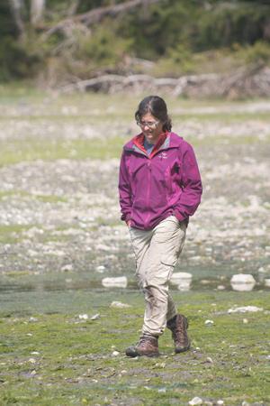 SFU archaeologist Dana Lepofsky