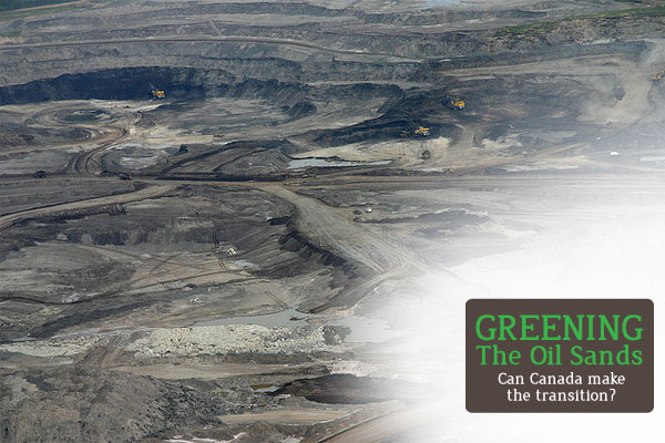 Greening the Oil Sands series graphic