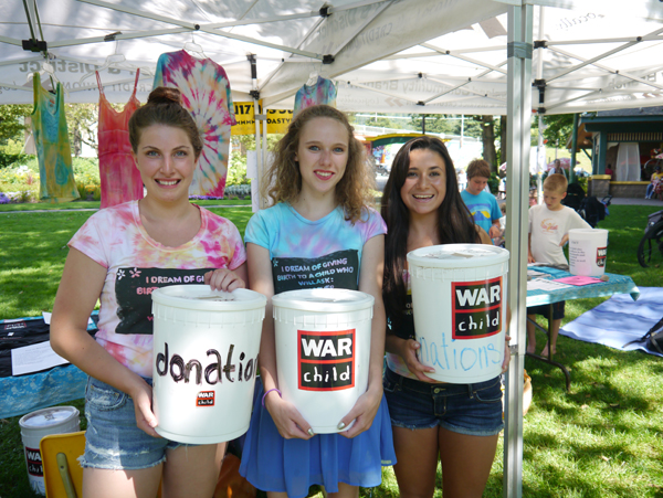 War Child donation bins