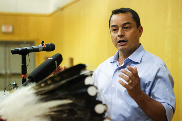 Assembly of First Nations National Chief Shawn A-in-chut Atleo
