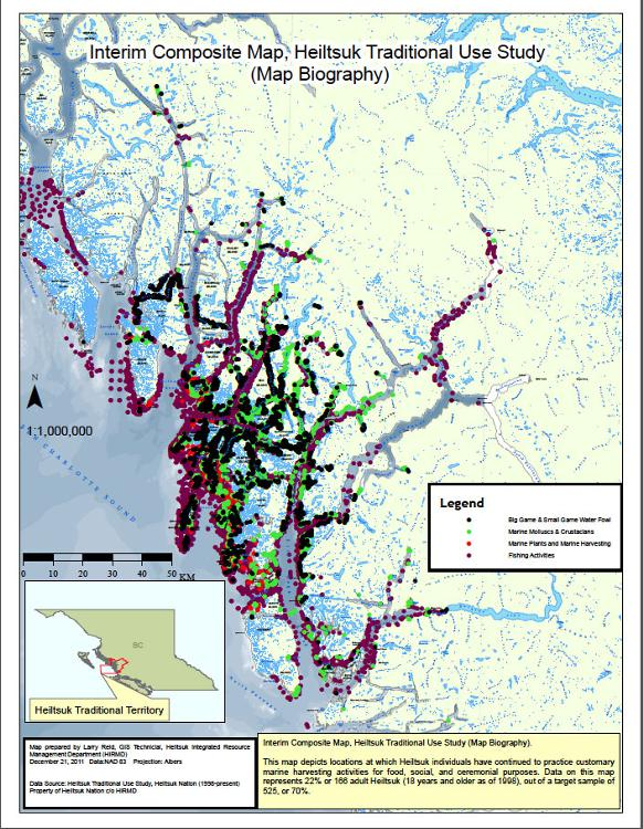 582px version of Heiltsuk Marine Use Map