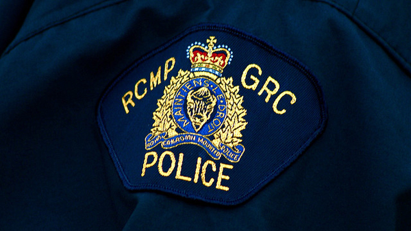 RCMP shoulder badge