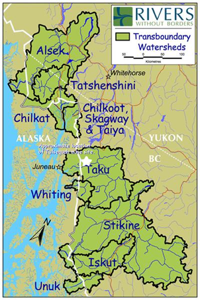 Tulsequah Mine site map
