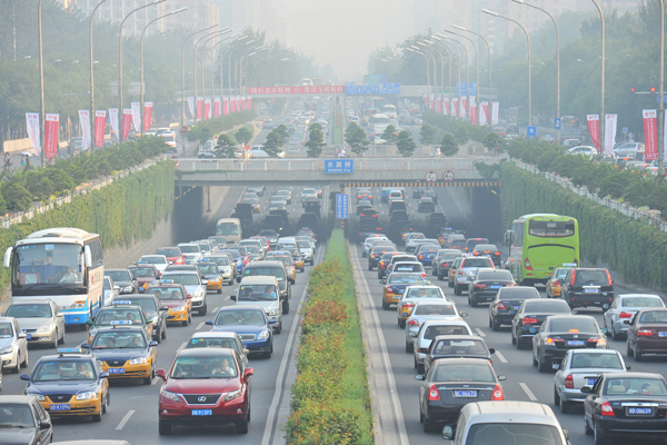 Beijing traffic photo