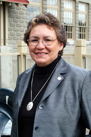 Chief Commissioner Sophie Pierre