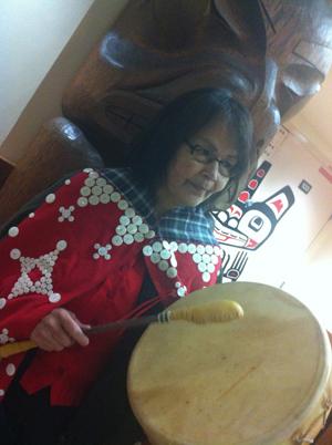 Lillian Rose Howard, a Nuu-chah-nulth member