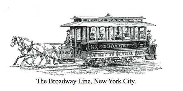 Horse Broadway line