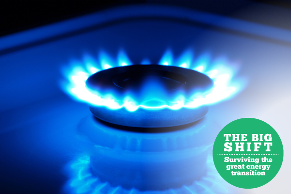 Big shift natural gas image