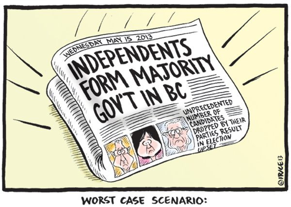 BC Election 2013: The Declaration of Independents | The Tyee