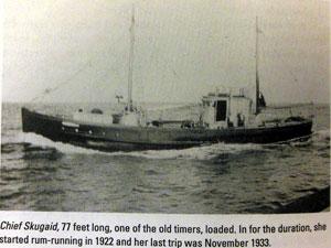 Chief Skugaid boat