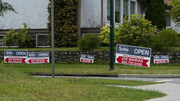 582px version of Real estate signs