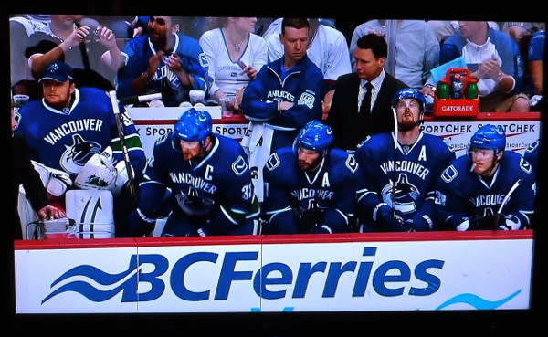 Vancouver Canucks in BC Ferries ad