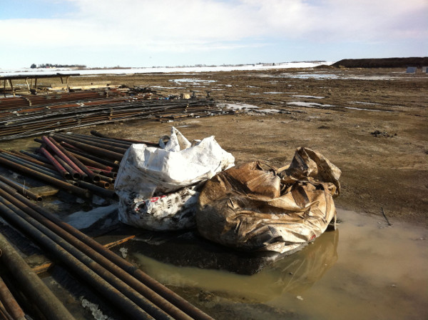Sour gas site