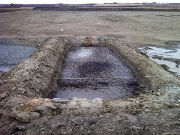 Sump pit