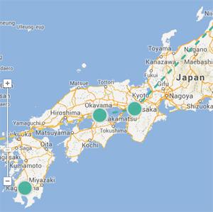 Where Copper Meets Fire The Tyee - Japan map naoshima