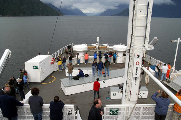 Bella Coola ferry