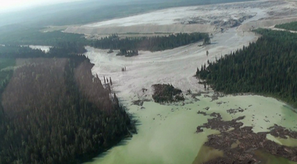 Mount Polley mine tailings disaster