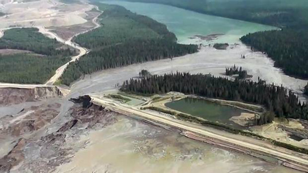 Mount Polley tailings dam spill