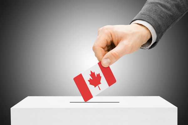 Image result for canadian voting