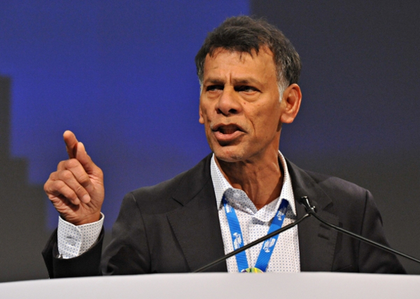 Labour union president Hassan Yussuff