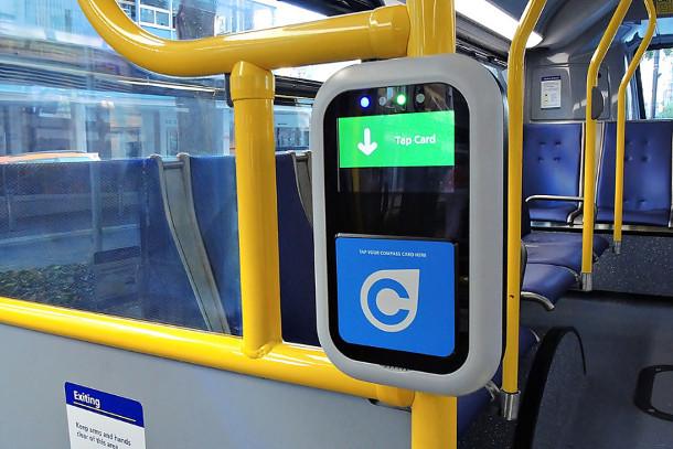 TransLink compass card