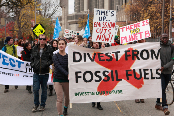 University of Toronto divestment march