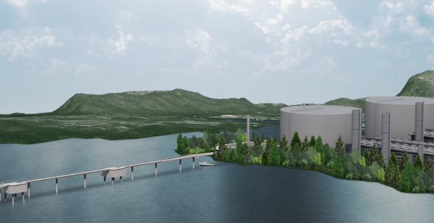 Illustration of Pacific NorthWest LNG