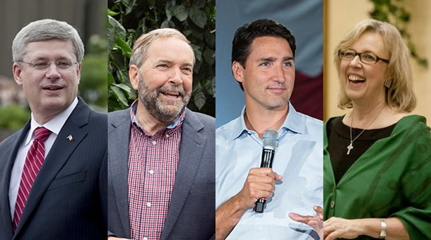 Canada federal party leaders