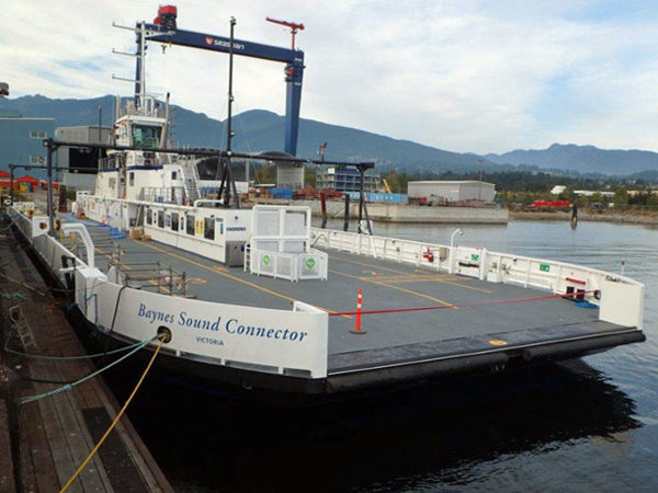 Denman Island Cable Ferry