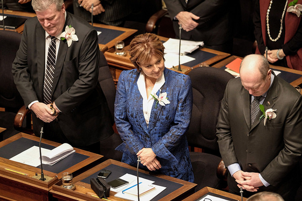 Christy Clark, Speech from the Throne