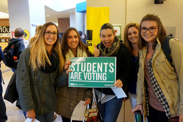 CFS students voting