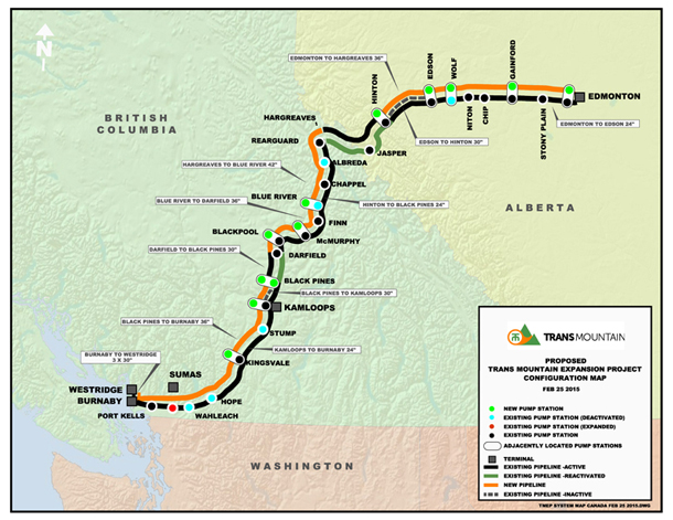 Trans Mountain Pipeline Yes But Says Neb The Tyee