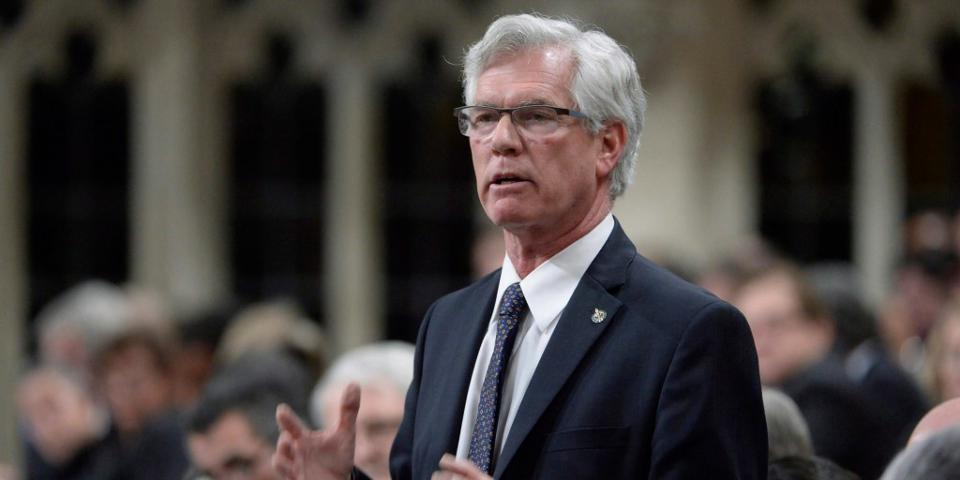 960px version of Minister of Natural Resources Jim Carr