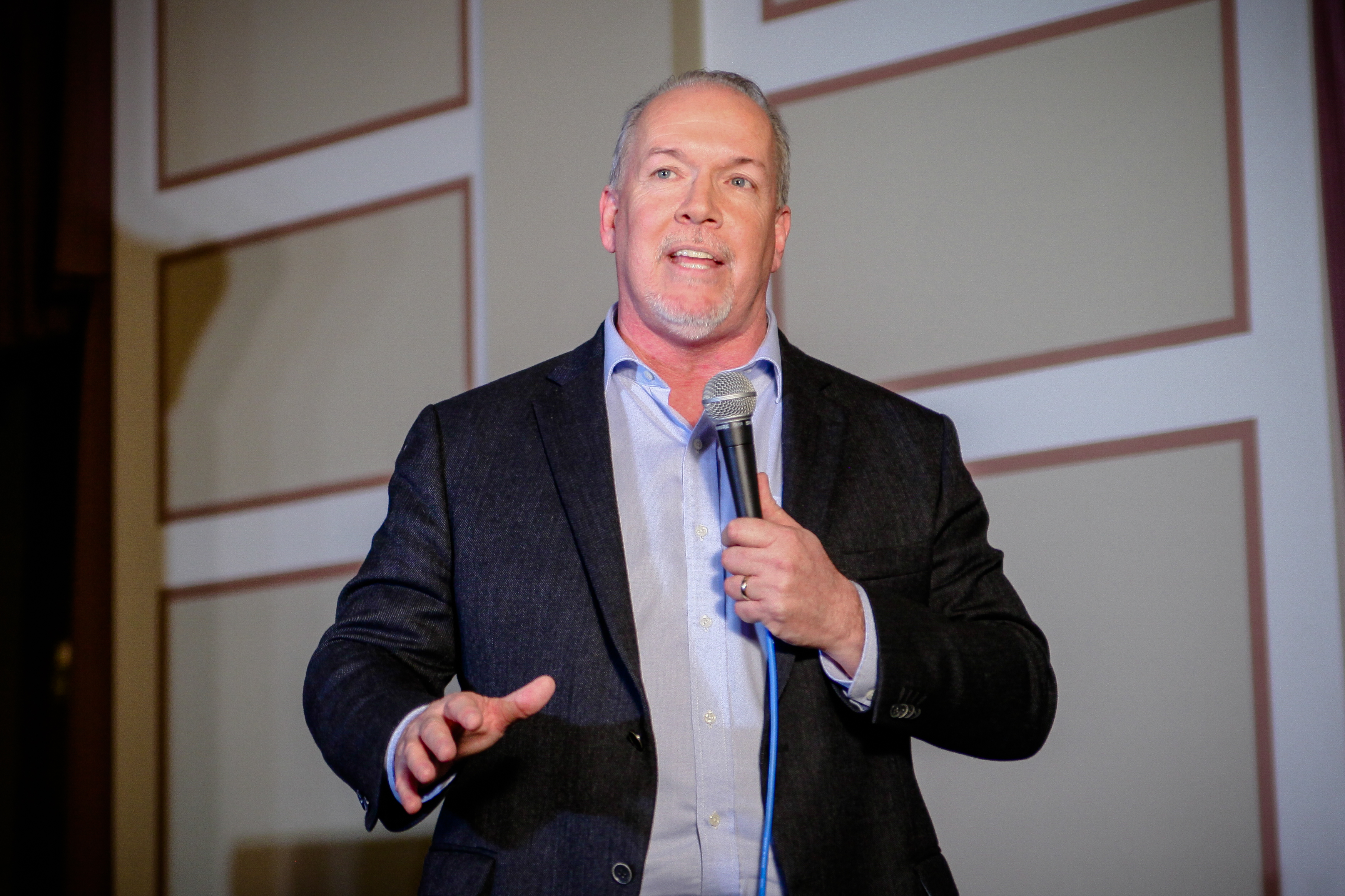 Ndp S John Horgan Unveils Climate Plan Would Put An End To Liberals Failure The Tyee