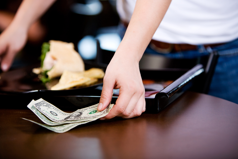 Restaurant money