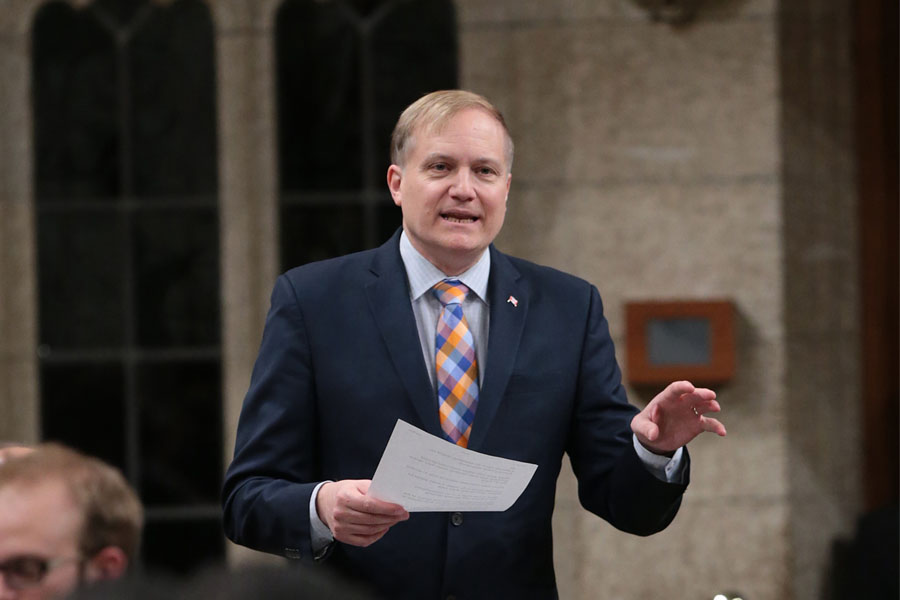 NDP leadership candidate Peter Julian