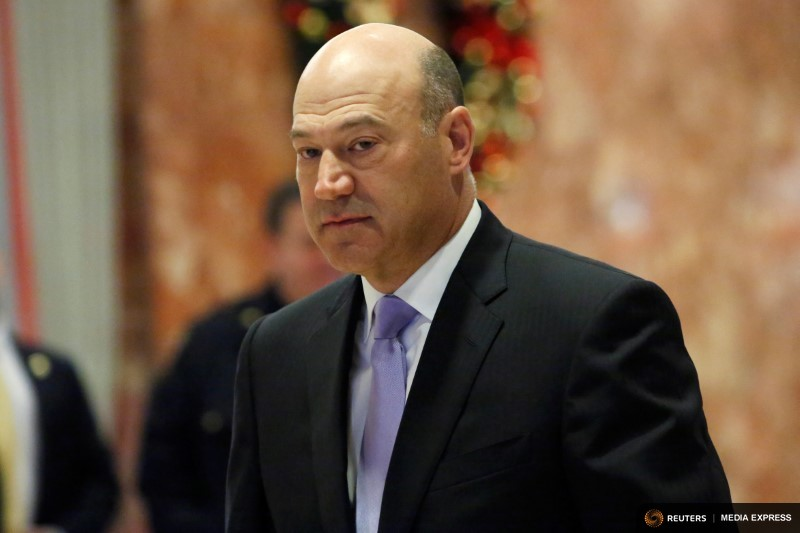 Gary Cohn, director of the White House's National Economic Council