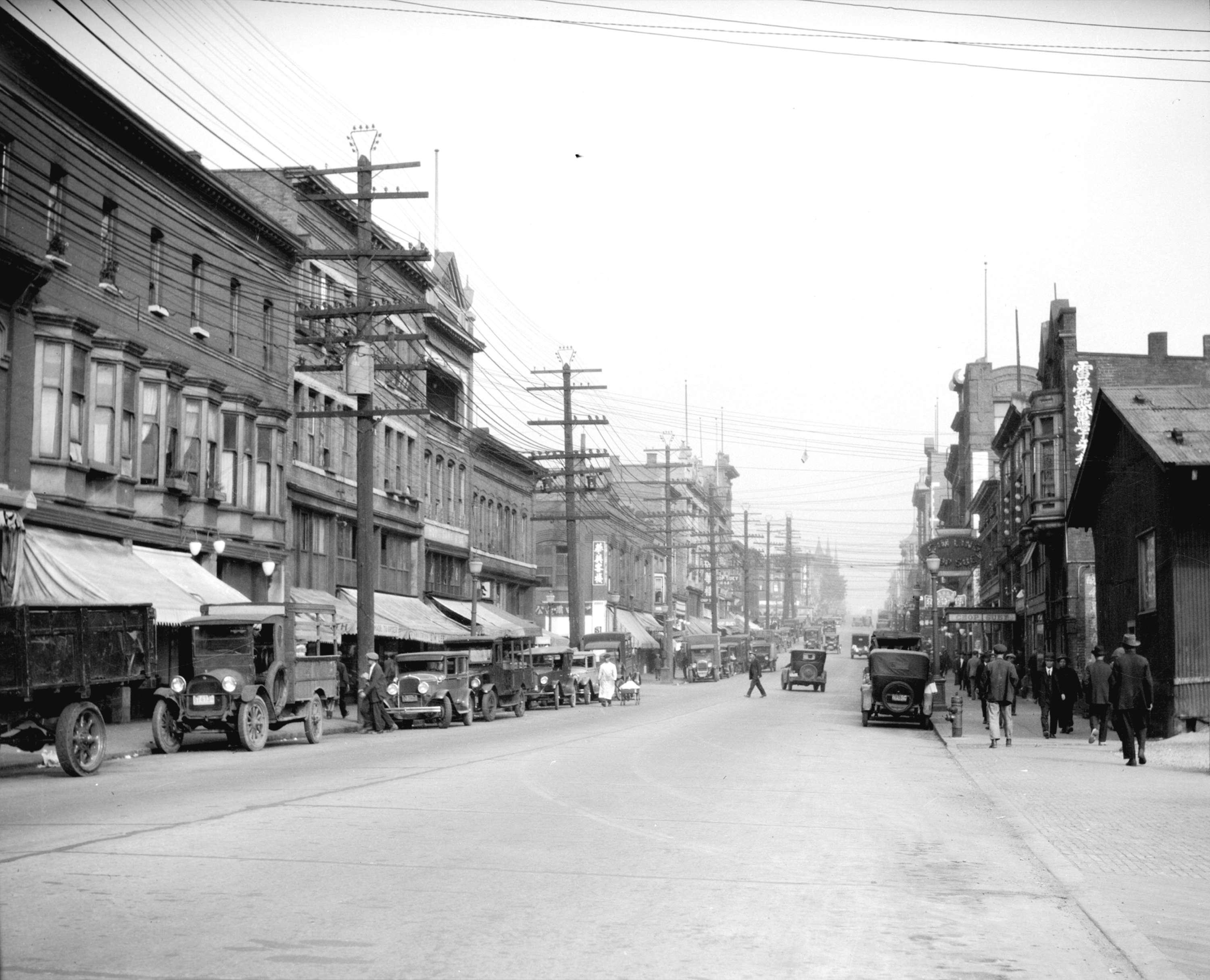 1200px version of Vancouver's Chinatown, 1928