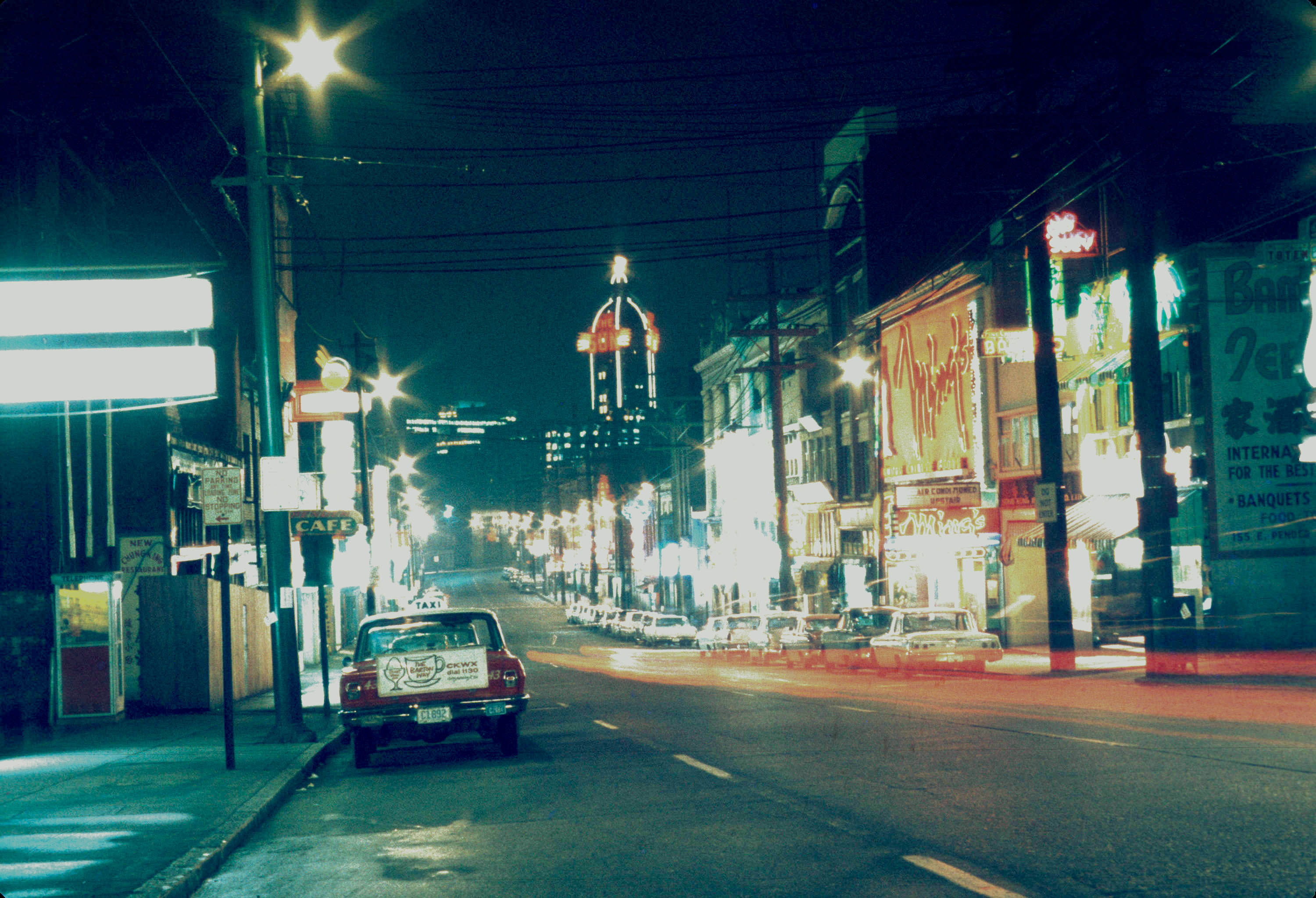 851px version of Chinatown in 1970s