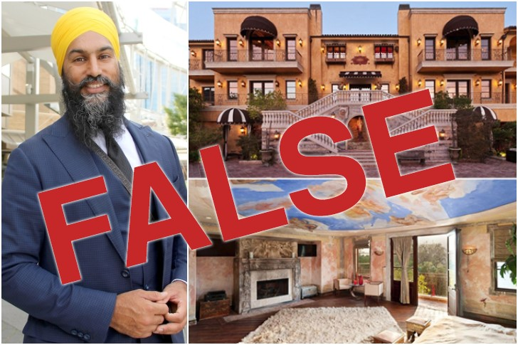 Site that Advertised Lie about NDP's Singh a Client of Israeli Ad Firm