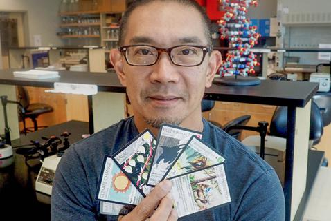 To Teach Kids that Know More of Pokemon than Phytoplankton, David Ng Made a Game of It