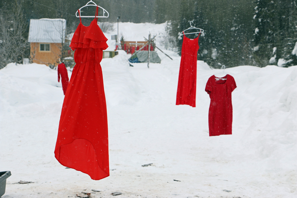 851px version of Red dresses