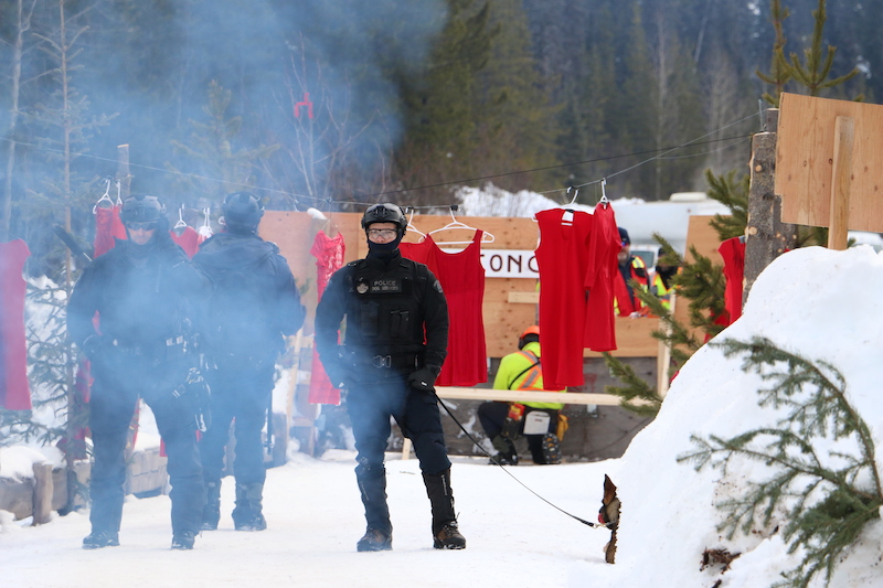 A Year Later, Complaint about RCMP Actions During Wet'suwet'en Conflict in Limbo (in News)