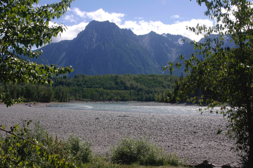 Bulkley and Skeena rivers