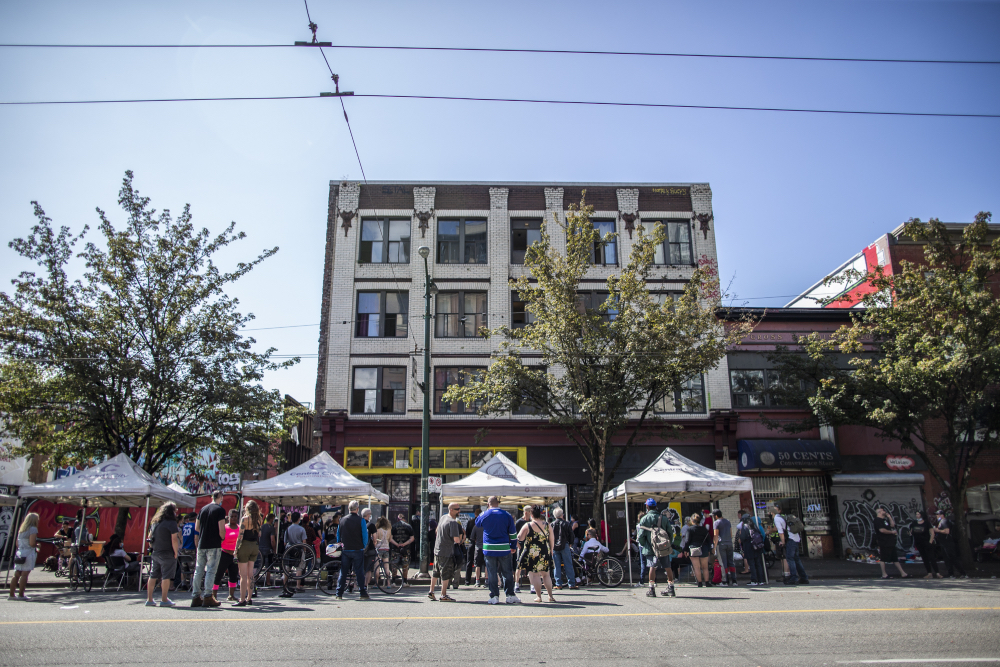 One Year on the Downtown Eastside Beat