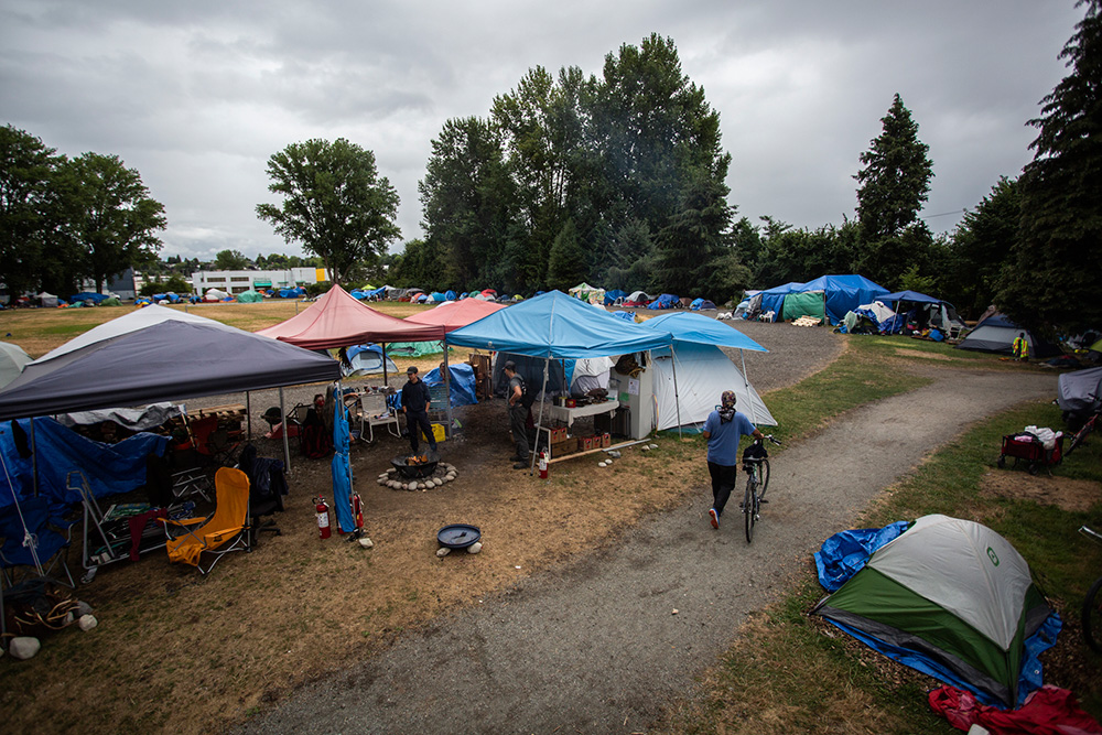 Tent Cities Aren't Going Away. Why Not Provide Sanctioned Sites? (in News)