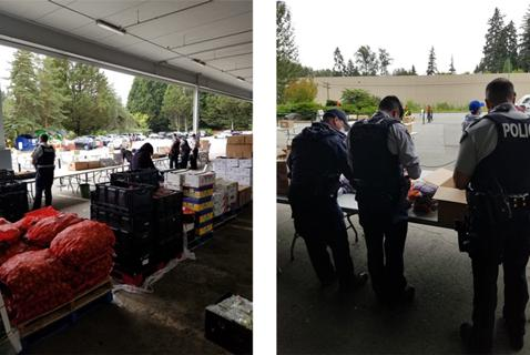 Food Bank Photo Ops Are Good for Police. But What about Clients?