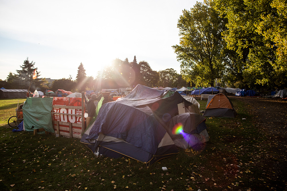 Strathcona Park Tent City: Nightmare, or Refuge? (in News)